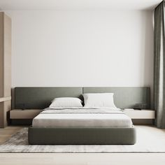Bedroom Bed Boards, Study Interior Design, Interior Ideas, Family Apartment, Modern Minimalist, Interior Architecture, Design Projects, Mattress, Modern Design