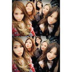 Tiffany, Sooyoung, Yoona, Hyoyeon, and Taeyeon
