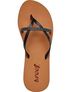 2b5c83c210aa5e Reef Womens Stargazer Flip Flop ( 19) ❤ liked on Polyvore featuring ...