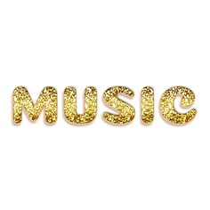 Volumetric inscription Music with gold granules and a thin outline, Symbol, Sign, Type PNG and PSD Cherry Background, Photo Background Images, Iphone Wallpaper Glitter, Heart Wallpaper, Luxury Font, Musica Disco, Outline Art, No Photoshop, Website Design