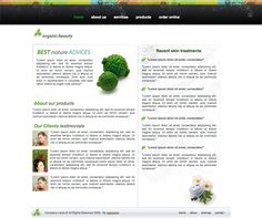 Web Design California High Quality Free Web Templates and Layouts Branding Agency, Design Agency, Organic Beauty, Amazing Nature, Service Design, Packaging Design, Layouts, Web Design, California