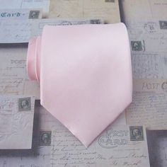 Mens Ties Pastel Pink Tie - David's Bridal Petal Inspired Pale Pink Silk Necktie With Matching Pocket Square Option Wedding Gifts For Families, Gifts For Family, Hello Kitty Wedding, Black Suit Men, Mens Silk Ties, Pink Ties, Wedding Ties, Father Of The Bride, Davids Bridal