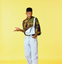 90s dungarees- Will Smith