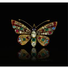 Charm Papillon Cristal Animaux Insectes Pearl Broche Pin Femmes pwrty Bijoux Cadeau
