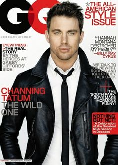 #Leather never looked so good. #ChanningTatum
