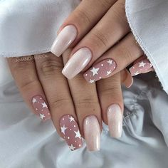 Cute Acrylic Nail Designs, Best Acrylic Nails, Nail Art Designs, Fancy Nails Designs, New Years Nail Designs, Pretty Nail Designs, Acrylic Gel, Perfect Nails, Gorgeous Nails
