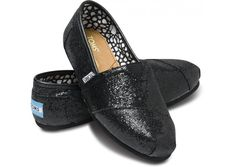 Black Women's Glitters. Think these will make great shoes for me and my maids.
