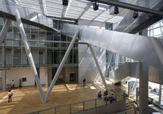 Academy of Fine Arts - Coop Himmelb(l)au Himmelblau, Art Academy, Built Environment, Munich, Modern Architecture, Fine Art, Thesis, Building, Architects