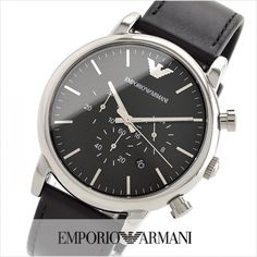 Emporio Armani Mens Watches, Omega Watch, Watches For Men, Accessories, Black, Fashion, Top Mens Watches, Moda, Black People
