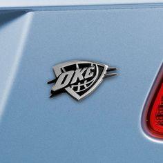 NBA - Oklahoma City Thunder Emblem 1.8x3.2