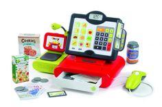Superbe caisse enregistreuse électronique très réaliste avec écran tactile et effets sonores ! Pèse, scanne, calcule, et passe des annonces au micro comme dans un vrai magasin. - Picwic - Jeux, jouets et activités créatives pour toute la famille