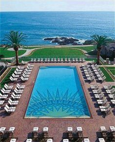 I lived in Laguna Beach, California for several years until The Montage Resort in Laguna (pictured here) was a mobile home park before the land lease expired and the Montage was built. Beach Hotels, Beach Resorts, Hotels And Resorts, Lux Hotels, Beach Vacations, Dream Vacations, Beautiful Places To Visit, Wonderful Places, Orange County Hotels