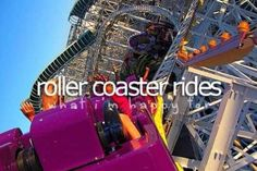 I love roller coasters!!!