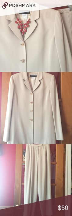 DONATING 7/13 🌟This Liz Claiborne Collection suit is 100% polyester and dry clean only. 🤗 Liz Claiborne Other