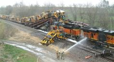 BNSF Train Wrecks | Collision of BNSF Coal Train With the Rear End of Standing BNSF ...