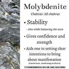 Molybdenite crystal meaning                                                                                                                                                                                 More