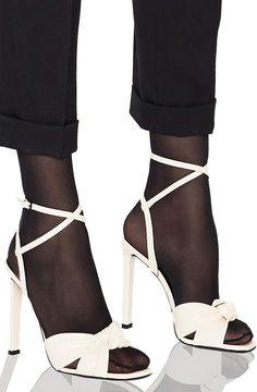 af202c0a393 Saint Laurent Patent Amy Ankle Strap Sandals 4 Inch Heels, Ankle Strap  Sandals, Patent