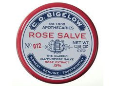 Rose salve lip balm can also be used to treat dry skin!