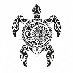 Turtle tattoo in Maori style. Vector illustration , - Turtle tattoo in Maori style. Maori Tattoos, Maori Tattoo Meanings, Tattoos Bein, Tribal Turtle Tattoos, Turtle Tattoo Designs, Polynesian Tattoo Designs, Maori Tattoo Designs, Samoan Tattoo, Tattoos With Meaning