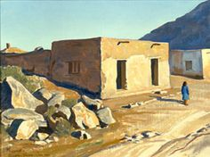 The UA Museum of Art will feature two collections and a series of vents highlighting the work of Maynard Dixon, a prolific artist of the Southwest, who died in Tucson in Watercolor Landscape, Landscape Art, Landscape Paintings, Landscapes, Maynard Dixon, Western Landscape, Desert Art, Mexican Artists, Fantasy Places