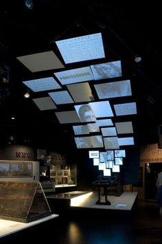 Think outside the screen. Museum of London Exhibition Design #audiovisual #eventtech #FredericClad