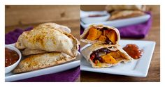 Chipotle Bleack Bean and Sweet Potato Empanada. Ha-WHat?!