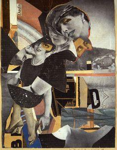 Dada: Hannah Höch, Da-dandy, collage and photomontage, 1919.
