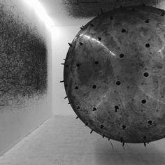 Kararina Smigla-Bobinski. Art Installation at The Lowry, Salford