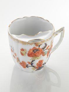 Beard Cup, 1850. Unknown artist. Porcelain. Tirschenreuth, Germany. © Porzellanikon