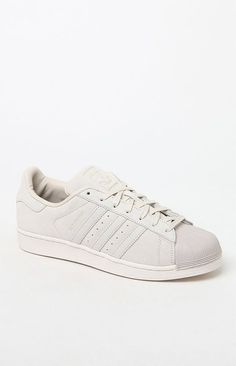 official photos 35653 f38f4 adidas Superstar Suede Off White Shoes at PacSun.com