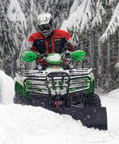 Winter isn't coming, it's arrived, but with WARN's ATV Snow Plow systems clearing paths in the deepest snow there is no need to panic.