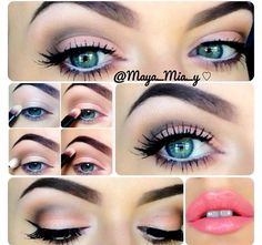 Special occasion eye makeup