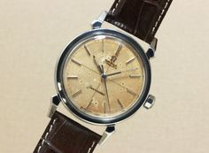OMEGA Seamaster Ref.2984 Cal.501 #omega #vintagewatch #vintagewatches #vintageomega #seamaster #patina #horology #horolin