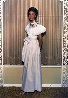 teenage Whitney Houston