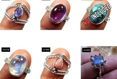 30 PCE Natural Gemstone Ring Wholesale Lot Rings 925 Sterling Silver Ring Lot_L01 - Moroccan Decor Store Silver Rings With Stones, Sterling Silver Rings, Peridot, Amethyst, Handmade Rings, Moroccan Decor, Natural Gemstones, Gemstone Rings, Turquoise
