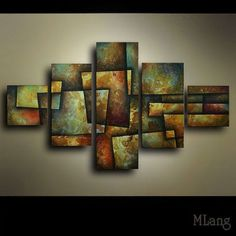 Contemporary Decorative Artwork by Michael Lang