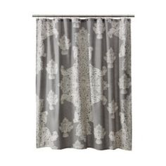 """Target Home™ Large Medallion Shower Curtain - Gray (72x72"""")"""