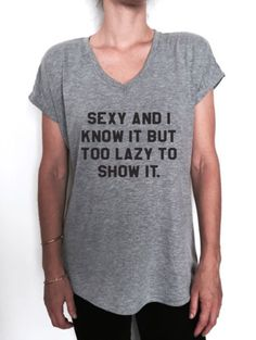 sexy-and-i-know-tshirt-Vneck-women-gift-present-funny-wife-girlfriend-saying-top