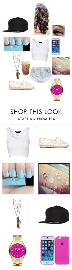 """""""Last Day Of School Yaaayy!!!!"""" by jazzydesigns ❤ liked on Polyvore featuring beauty, Jane Norman, Valentino, EF Collection, Feather and Skull, Flexfit and MICHAEL Michael Kors"""
