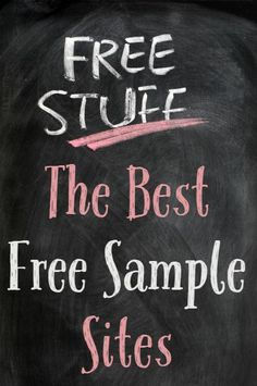 The Best Free Sample Sites - It Was Cheap...
