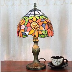 Tiffany Table Lamps, Lightning, Stained Glass, Larger, Gift Ideas, Vintage, Home Decor, Style, Swag