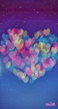 watercolor Hearts - i truly LOVE this- speaks to my artist heart