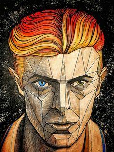 David bowie / art .