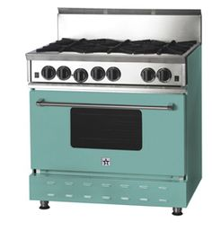 colored ovens, wow!