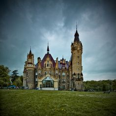 Moszna Palace, Opolskie Voivodship, Poland