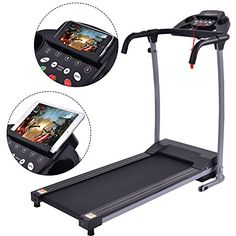 Costway Folding Treadmill Electric Portable Motorized Power Running Fitness Machine w/support Treadmill Workouts, Running On Treadmill, Running Workouts, At Home Workouts, Cardio, Foldable Treadmill, Folding Treadmill, Electric Treadmill, Led Display Screen