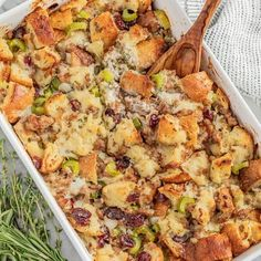 Looking for the best stuffing ever? This from-scratch sausage stuffing recipe is decadent, delicious, can easily be made ahead and is perfect for your Thanksgiving dinner, or any special meal! Best Stuffing, Sausage Stuffing, Stuffing Recipes, Homemade Dinner Rolls, Ground Sausage, Other Recipes, Baked Eggplant, Eggplant Parmesan, Eggplant Recipes