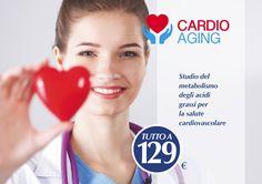 Controlla il metabolismo degli acidi grassi per la tua salute cardiovasolare con il test Cardio Aging. _________________________________________  Prenota il test Cardio Aging, chiama il numero verde ☎800194063