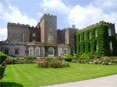 Powderham Castle near Exeter - Home of the Earl of Devon
