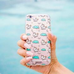 Give a brand new style to your phone! Tap the link in the bio and see much more #iphone #phonecase #samsung #unicorn. Phone case by Gocase www.shop-gocase.com